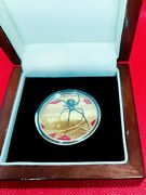 Niue 2018 100 Red-back Spider 1 Oz Gold Original Package And Coa