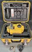 Topcon Gts-302d Total Station W/ Hard Case + Accessories
