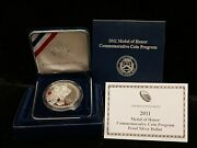 2011 P 1 Proof Silver Medal Of Honor Commemorative Dollar With Ogp And Coa
