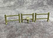 John Hill And Co Vintage Pre War Lead Fence And Step