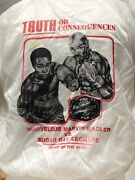 Vtg Promotional 1980andrsquos Sugar Ray Leonard Vs Marvelous Marvin Hagler Boxing Fight