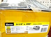Stanley-bostitch 3952926 15 Deg Steel Coil Collated Siding Nail - 0.092 X 2.5...