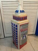 Rare And Unique Coors Light Inflatable 20th Centrury Fox Building