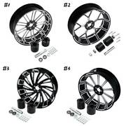 18and039and039 Rear Wheel Rim With Hubs Fit For Harley Touring Road Glide Non Abs 08-21