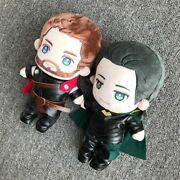 Marvel The Avengers Thor Loki Thorki Plush Doll Clothes Outfits Cosplay Suit