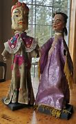Antique Before 1912 Hand Made Chinese Theater Puppets Purchased At Arthur Court