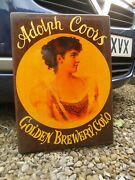 Old Coors Beer Wood Sign