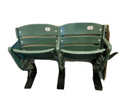 St. Louis Cardinals Game Used Green Seats 1 And 2 Row 6 Mlb Holo Super Rare