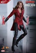 Hottoys Scarlet Witch Age Of Ultron New Avenger Ver Movie Promo Edition Mms357