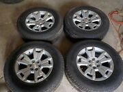 2015 16 17 18 2019 Chevy Colorado 17x8 Factory Wheels 6x120 And 255/65r17 Tires