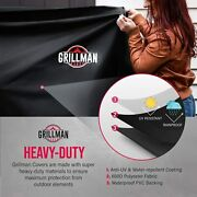 Bbq Grill Covers Heavy-duty Uv Water-resistant Gas Grill Covers Rip-proof