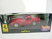 1999 Vintage Hot Wheels 62' 250 Gto Red Ferrari Collectible 118 Scale