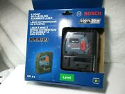 New Bosch 100 Feet 5 Point Self Leveling Plumb And Square Alignment Laser Gpl5s
