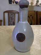1906 Kentmere Pottery Ceramic Drink Bottle And 2 Cups Made By Morley Fox And Co