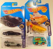Hot Wheels Back To The Future Time Machine Hover Mode Kitt Beatles Scooby Doo Mm
