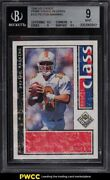 1998 Upper Deck Choice Prime Reserve Peyton Manning Rookie Rc /100 193 Bgs 9
