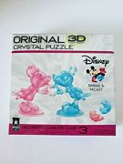 Bepuzzled Deluxe 3d Crystal Puzzle 2018 Disney Minnie And Mickey Mouse Heart Hands
