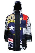 Authentic Versace Men's Jacket Us Xxl Made In Italy