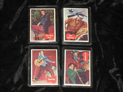 Complete Set Of Elvis Presley 1956 Topps/bubbles Cards Rare In Vg Condition