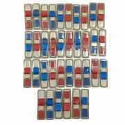 Post It Flags 3m .47x1.7 Document Paper Lot Of 18 Red Blue 2 Packs, 1800 Flags