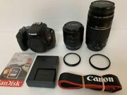 �andtrade Popular �andtrade Canon Kiss X9 �andtrade Standard And Telephoto Double Lens Set �andtrade 657