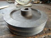 Older Double Pulley 3/4 Bore From A Machie Shop