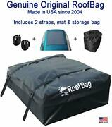 Roofbag Rooftop Cargo Carrier Made In Usa 15 Cubic Feet. Waterproof Car Top C...