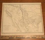 Central America Ii Early Texas California Mexico Chapman And Hall Map 1842