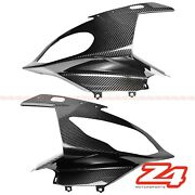 2015-2019 Bmw S1000rr Carbon Fiber Upper Front Nose Headlight Cover Fairing Cowl
