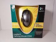 Brand New Logitech G500 10 Buttons Scroll Wheel Usb Wired Laser 5700dpi Mouse