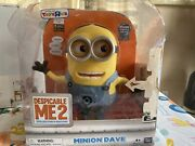 Minion Dave Despicable Me 2 Talking Figure 9 Inch Exclusive Toys R Us Edition