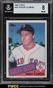 1985 Topps Roger Clemens Rookie Rc 181 Bgs 8 Nm-mt