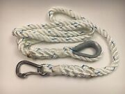 5/8 X 10and039 Mooring Pendant - Snaphook