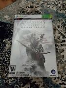 Assassin Creed 3 Limited Collectors Edition Xbox 360 + Steel Case