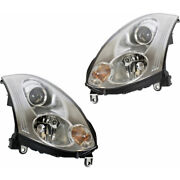 For Infiniti G35 Headlight Assembly 2006 2007 Rh And Lh Pair/set Hid Coupe