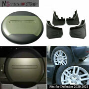 Fit For Defender 2020 2021 Pangea Green Spare Tyre Tire Cover Mudguards Fenders