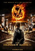 Hunger Games 27x40 Original Theater Double Sided Movie Poster