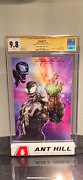 Venom 7 Clayton Crain Virgin Variant With Sketch Cgc Ss 9.8 Iconic Cover