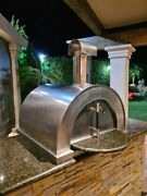 Wood Fired Pizza Oven Handcrafted Bench Model