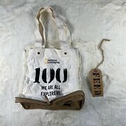 Feed The Children Of The World 100 Compact Zip Cotton And Burlap Tote Bag