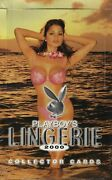Playboy's Lingerie 2000 Trading Cards Sealed Box Of 24 Packs Autograph Card