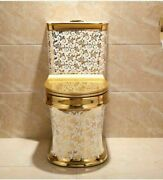 Closestool Toilet Bowls Cyclone Flushing S-trap Floor Mounted Seat Luxury Tools