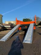 Heavy Duty 6 Ton Trailer Ramps Pair Jacksta Plant Tractor Digger Delivery Inc.