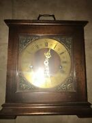 —- Vintage Elgin Welby Westminster Chime Mantel Clock Made In Germany—350-060