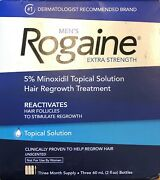 Menand039s Rogaine Extra Strength 5 Minoxidil Topical Solution