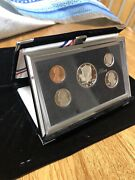 1998 U.s. Mint Premier Silver Proof Set - 90 Silver  With Box And Coa