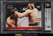 2009 Topps Ufc Round 1 Silver Chuck Liddell Rookie Rc /288 Bgs 9 Mint
