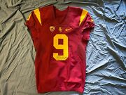 Juju Smith-schuster Signed Game-worn/used Usc Jersey - Steelers