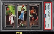 2003 Topps Matrix Dwyane Wade Lebron James Carmelo Anthony Rookie Rc Psa 9 Mint
