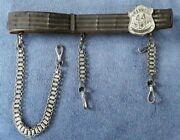 Vintage The M.c. Lilley And Co. Knights Templar Sword Belt Franklin 44 Commandery